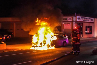 Sunrise highway car fire 9/1/19