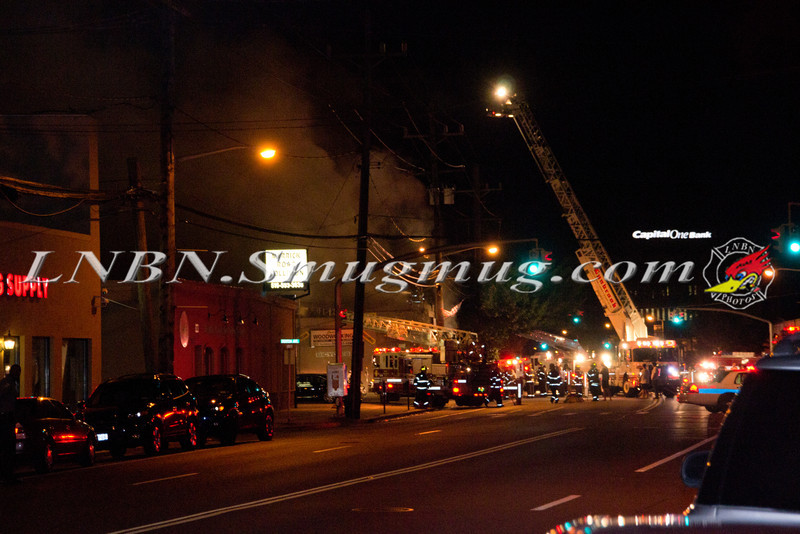Lynbrook F D  -Lynbrook Bicycle Fire- 224 W  Merrick Rd  8-23-11-1