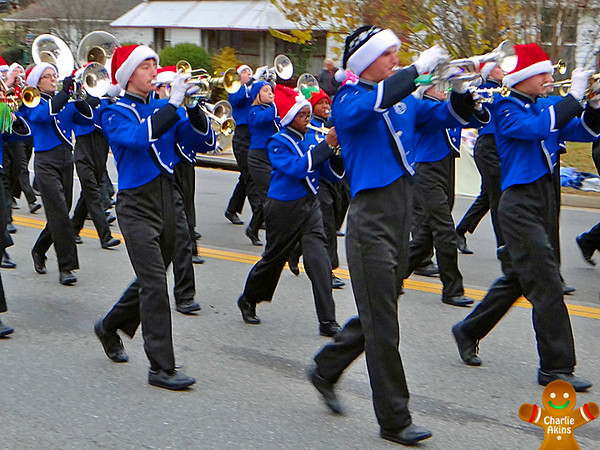 Marching band at the parade