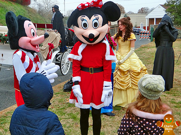 Kids love Mickey and Minnie Mouse