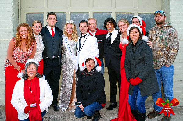 Group shot with Miss Virginia