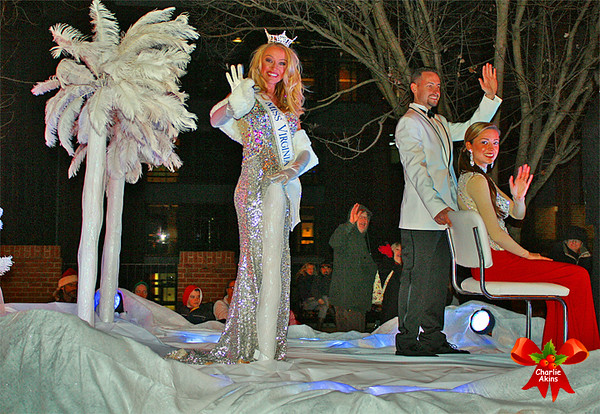 Miss Virginia and her court