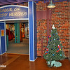 Pirate theme Christmas tree at Amazement Square Children's Museum in Downtown Lynchburg