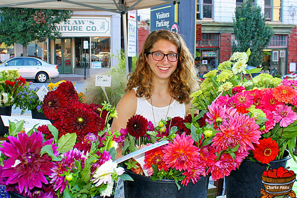 Pretty flowers for sale