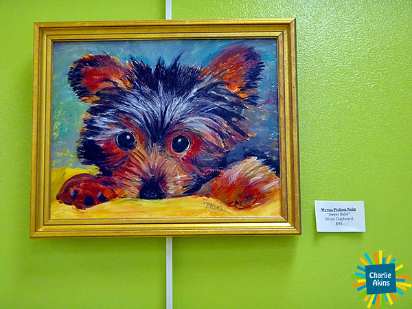 Another painting at the Lynchburg Humane Society