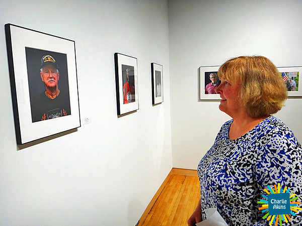 Photography by Steve Romine honors Lynchburg veterans.