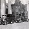 The 1930's Police Wagon and a Vehicle  (06678)