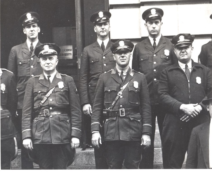Several of the 1940's Police Force II  (06673)