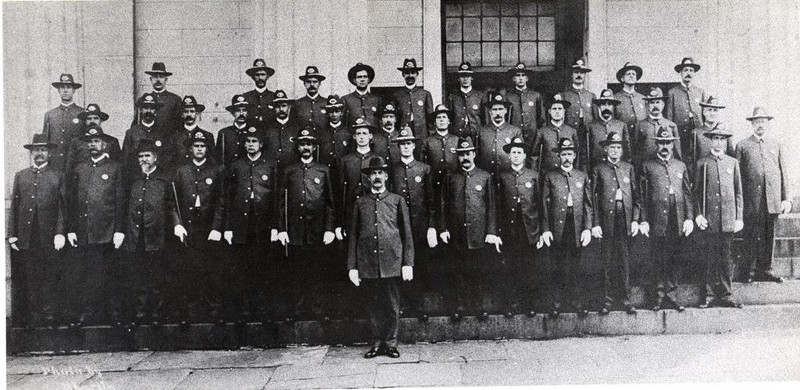 The 1910's Lynchburg Police Department  (06667)