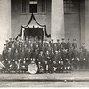 Police Force and Band ca. 1920's  (06664)