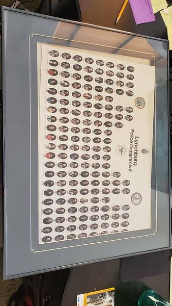 Lynchburg Police Department in 1986  (O 2019. 35.2)