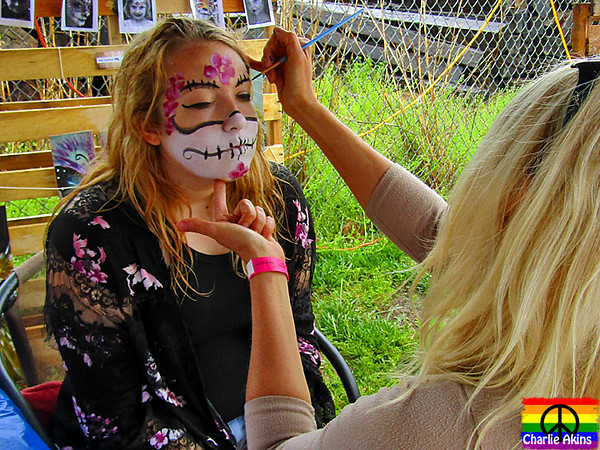 Creative face painting