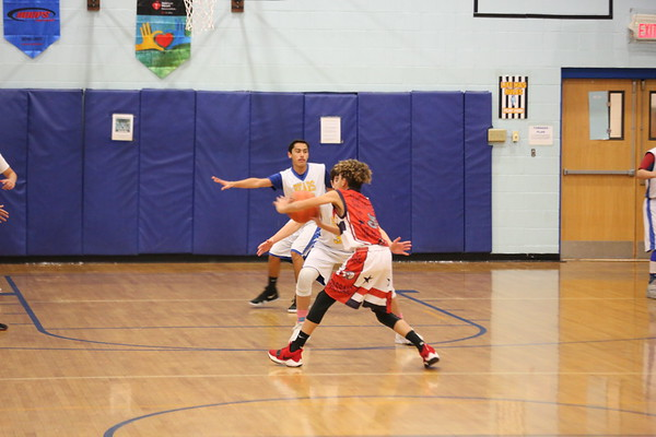 8th Grade vs Passaic 1-25-18