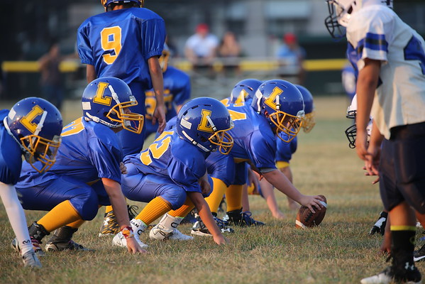 Lyndhurst  Football Scrimmage vs. Harrison