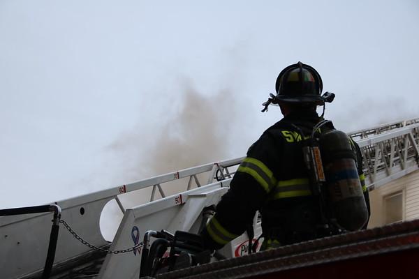 Lynn Ma 4th alarm fire 1-8-18,  26 Broad Street