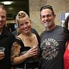 Lynn, Ma. 6-21-17. Marc Romano, Karen Carlson, Bob Gaudette, Marina Gaudette were at the Brian Setzer concert.