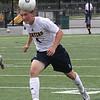 Lynnfield, Ma. 9-18-17. Jonathan Luders heads the ball.
