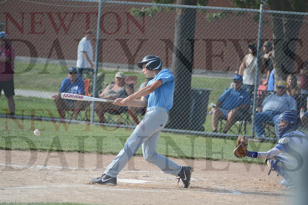 Lynnville-Sully Baseball vs. Moravia July 13, 2017