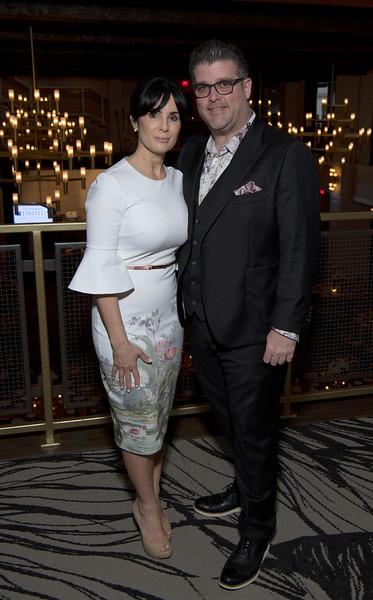Simone Castaldo and Eddie Tully