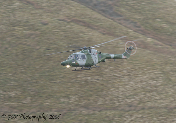 XZ672/'H' (671 SQN) Lynx AH.7 - 17th December 2008.