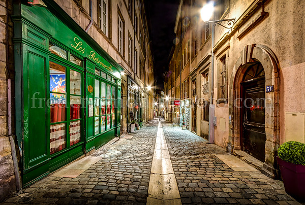 Rue du Boeuf in the Old Lyon