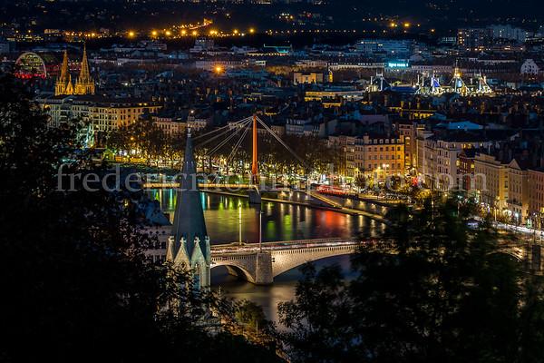Lyon by night ...