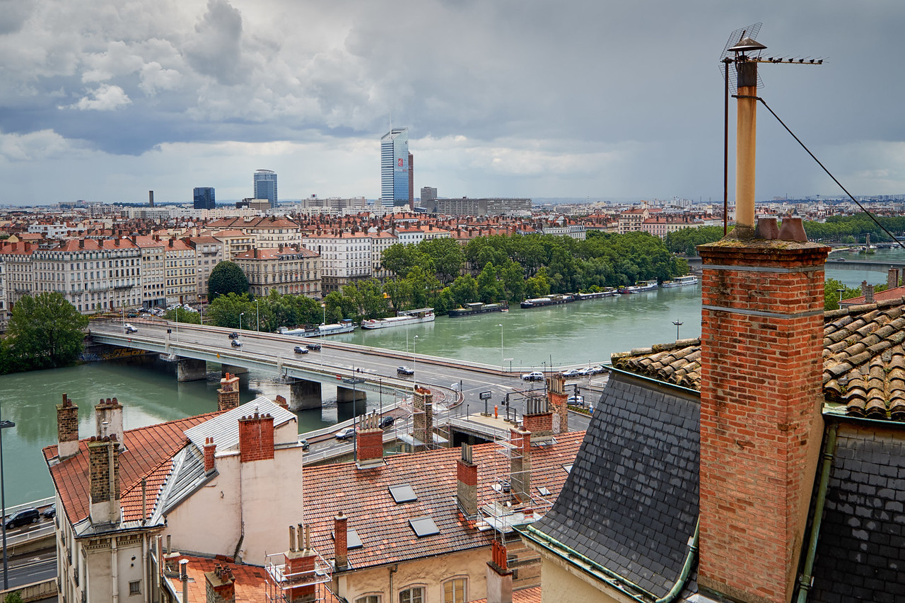 A travers le Rhône