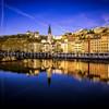 Blue Hour on the Saône at Lyon