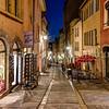 Croix Rousse at Lyon at night ...