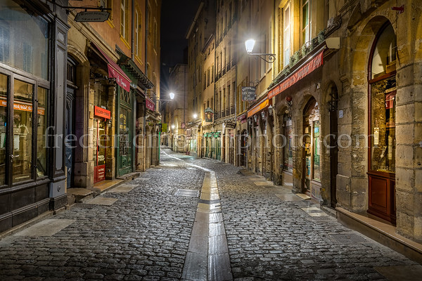 St-Jean street in the Old Lyon