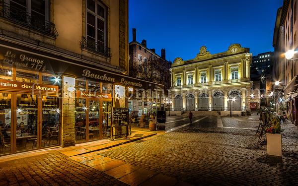 Place du Change à Lyon