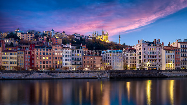 Colors on Saône
