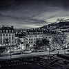 Sunset on Lyon in B/W ...