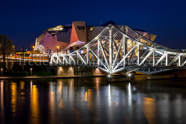 Pont de la Mulatière et Musée des Confluences à Lyon