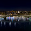 The Croix-Rousse district by night at Lyon