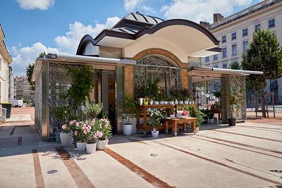 Floriste, Place Bellecour