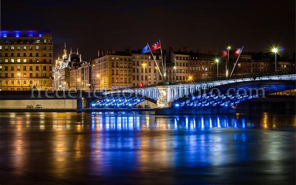 Lafayette bridge at Lyon