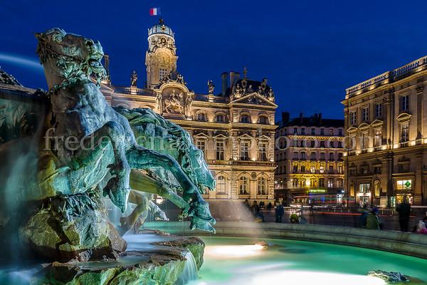Fountain at Lyon
