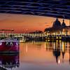 Sunset on the Rhône at Lyon