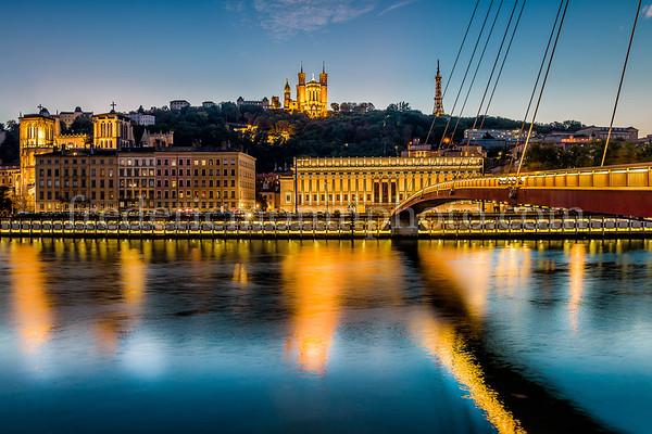 Réflection on the Rhône