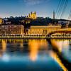 Reflection on the Rhône