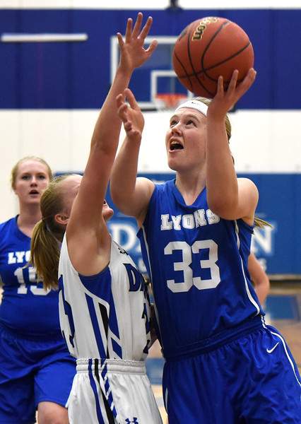 Lyons vs Dawson Girls Hoops