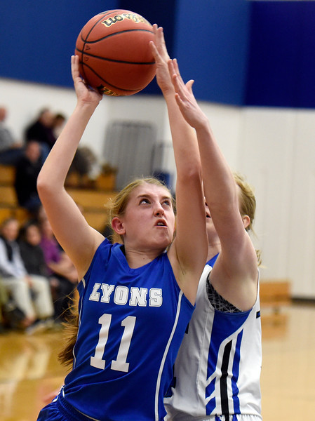 Lyons vs Dawson Girls Hoops