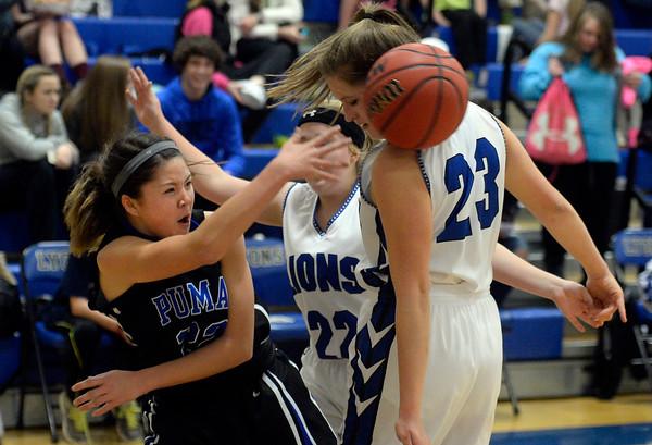 Lyons vs Peak to Peak Girls Bball