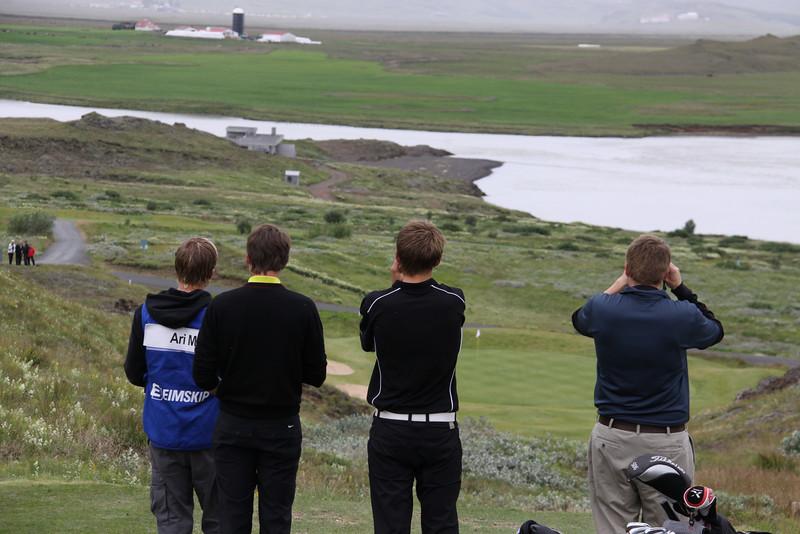 Ari Magnússon, Hallgrímur Júlíusson og Haraldur Hilmar Heimisson
