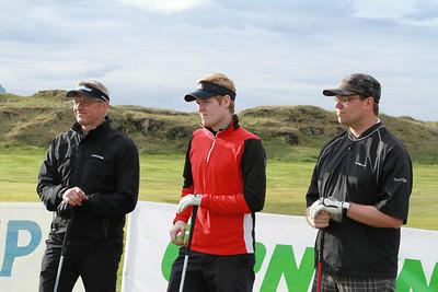 Hannes Eyvindsson, Stefán Orri Ólafsson og Emil Þór Ragnarsson