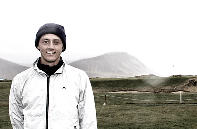 Axel Bóasson úr Golfklúbbnum Keili