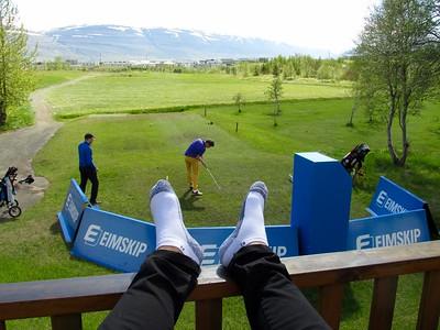 Eimskipsmótaröðin 2015 Íslandsmót holukeppni Akureyri