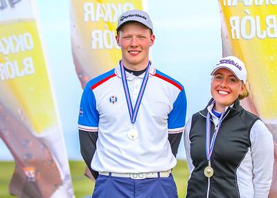 Fannar Ingi Steingrímsson, Berglind Björnsdóttir. seth@golf.is