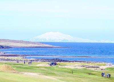 Hólmsvöllur, Leira, Snæfellsjökull. seth@golf.is